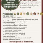 A AGROFLOR e parceiros realiza 1º Encontro da Agricultura Familiar Agroecológica em Bom Jardim