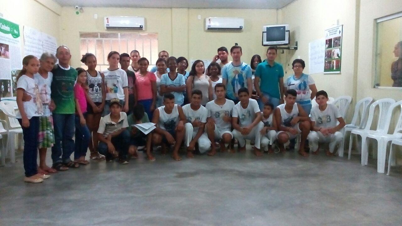Encontro de Grupos de Jovens das Comunidades do Projeto Mãos que Protegem