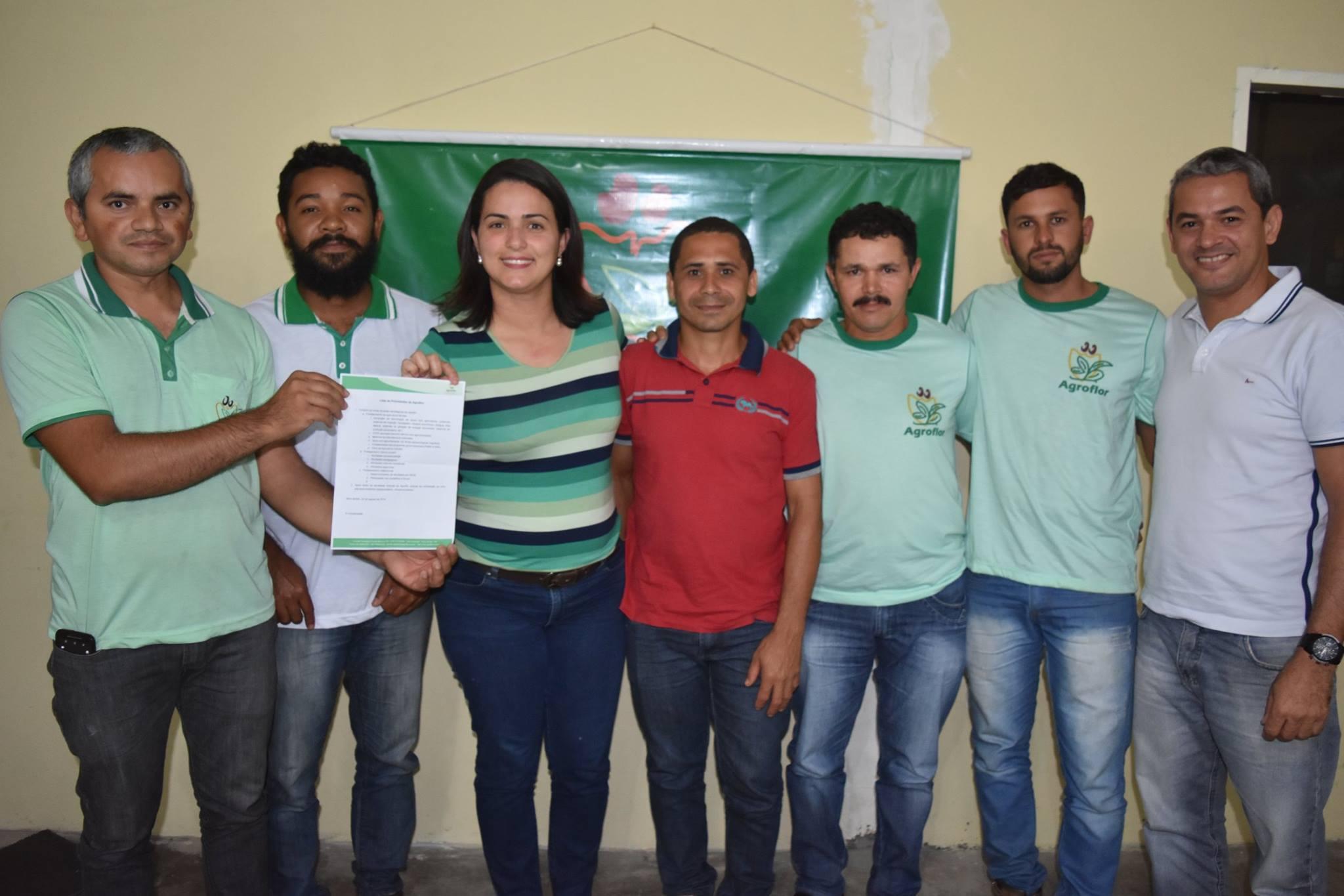 AGROFLOR apresenta pauta para a pré-candidata Juliana Chaparral